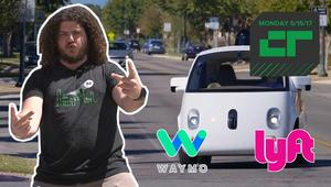 Lyft and Waymo Partner Up on Self-Driving Cars | Crunch Report